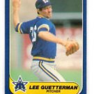 Lee Guetterman Trading Card Single 1986 Fleer Update #U46 Mariners
