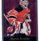 Martin Brodoeur Retro Parallel SP 2015 16 OPC Platinum #R3 Devils