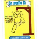 Larry Letters Single 2013 Topps Garbage Pail Kids Mini #168b