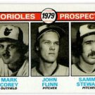 Mark Corey Jim Flinn Sammy Stewart RC 1979 Topps #701 Orioles NMT