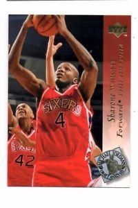 Sharone Wright Trading Card 1994-95 Upper Deck #191 76ers
