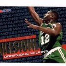 Dominique Wilson Trading Card 1995-96 Hoops #217 Celtics