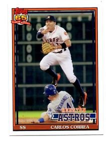 Carlos Correa Trading Card 2016 Topps Archives #250 Astros