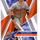 David Wright Trading Card Single 2008 Upper Deck X #62 Mets