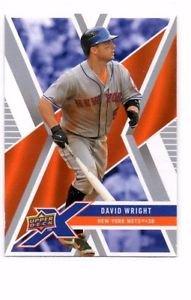 David Wright Trading Card Single 2008 Upper Deck X #62 Mets
