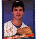 Don Mattingly Trading Card Single 1986 Donruss #173 Yankees