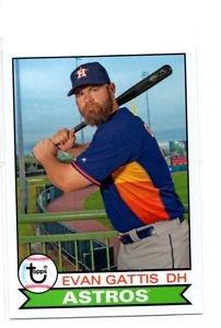Evan Gattis Trading Card Single 2016 Topps Archives #1181 Astros