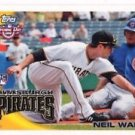 Neil Walker RC Trading Card Single 2011 Topps Opening Day #212 PIrates