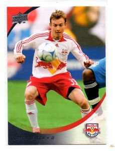 Chris Leitch Trading Card Single 2008 Upper Deck MLS #182 Red Bull
