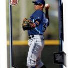 Willy Adames Trading Card Single 2015 Bowman Draft #105 Rays