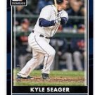 Kyle Seager Black SP  2016 Donruss #119 Mariners 008/199