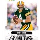 Brett Favre Franchise Trading Card 200( Score #F4 Packers