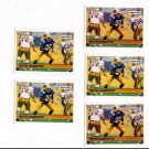 Keith Hamilton Trading Card Lot of (5) 1992 Courtside Draft Pix #134