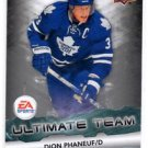 Dion Phaneuf Ultimate Team insert 2011-12 Upper Deck #EA12 Leafs
