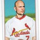 Matt Holliday Trading Card Single 2010 Topps 206 #1 Cardinals