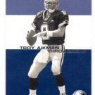 Troy Aikman Throwbacks Trading Card 2001 Fleer #6 Cowboys