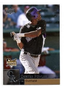 Dexter Fowler RC Trading Card Single 2009 Upper Deck #416 Rockies
