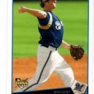 Mat Gamel RC Trading Card 2009 Topps #71 Brewers