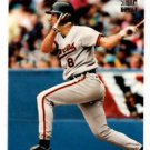 Cal Ripken Jr Dugout Dirt Trading Card 1994 Topps Stadium Club #4 Orioles