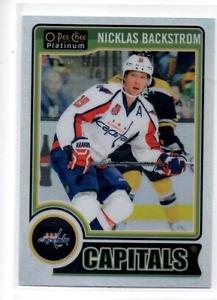 Nicklas Backstrom White Ice Parallel SP 2014-15 OPC Platinum #35 Capitals /199