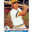 Bill Mazeroski Trading Card Single 2016 Topps Archives #118 PIrates