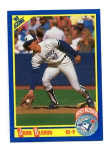 John Olerud RC Trading Card Single 1990 Donruss #589 Blue Jays