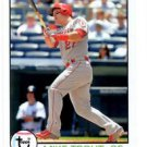 Mike Trout Trading Card Single 2016 Topps Archives 129 Angels