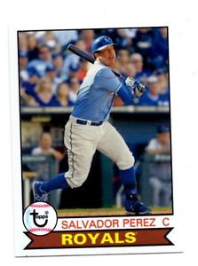 Salvador Perez Trading Card Single 2016 Topps Archives #183 Royals