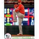 Garrett Richards Trading Card 2016 Topps Archives #194 Angels