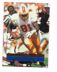 Jackie Harris Trading Card 1996 Fleer Ultra #156 Buccaneers