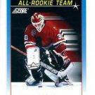 Ed Belfour Trading Card Single 1991-92 Score Canadian Bilingaul #378 Blackhawks