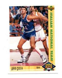 Ario Costa 1991-92 Upper Deck International Italian #115