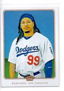 Manny Ramirez Trading Card Single 2010 Topps 206 #241 Indians