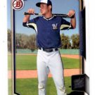 Jake Gatewood Trading Card Single 2015 Bowman Draft #104 Brewers
