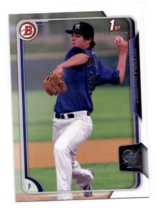 Peter Lambert Trading Card Single 2015 Bowman Draft 121 Rockies