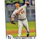 Zach Britton Trading Card Single 2016 Topps Archives 137 Orioles