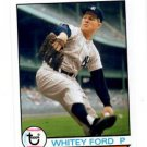 Whitey Ford Trading Card Single 2016 Topps Archives #189 Yankees