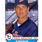 Paul Molitor Trading Card Single 2016 Topps Archives #127 Twins