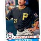 Jung Ho Kang Trading Card Single 2016 Topps Archives #140 Pirates
