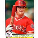 Kole Calhoun Trading Card Single 2016 Topps Archives #187 Angels