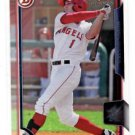 Jared Foster Trading Card Single 2015 Bowman Draft #101 Angels