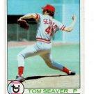 Tom Seaver Trading Card 1979 Topps #100 Reds NMMT