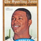 Hanley Ramirez Trading Card Single 2011 Topps Heritage #393 AS