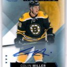 Colin Miller Auto RC Trading Card 2015-16 UD SP Game Used #113 Bruins