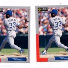Eddie Murray Trading Card Lot of (2) 1998 Upper Deck Collector's Choice #149