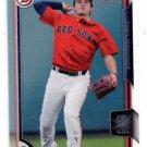 Tate Matheny Trading Card Single 2015 Bowman Draft #89 Red Sox