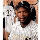 Tim Raines Trading Card Single 1994 Studio #208 White Sox