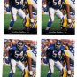 Carlton Bailey Trading Card Lot of (4) 1995 Upper Deck #294 Panthers