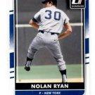 Nolan Ryan Trading Card Single 2016 Donruss #183 Mets