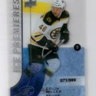 Colin Miller 2015-16 Upper Deck Ice Premieres RC #173 071/999 Bruins